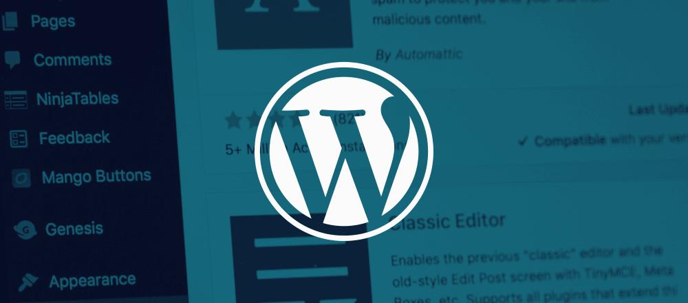 Bug in WordPress plugin